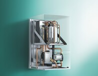 Press picture 2: New on the market geoTHERM wall-hung heat pump