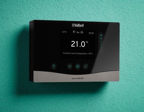 New Vaillant control units