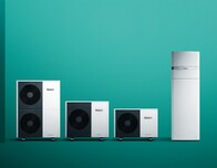 Heat outputs from 5 to 12 kW and a suitable system range - this is how the new aroTHERM plus heat pump from Vaillant looks.