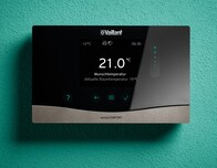 Vaillant is further expanding its controller family, for example with a wireless version of its sensoCOMFORT controller. This increases flexibility, especially when modernising existing buildings.
